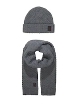 Onscenz Box Scarf Beanie Set   Scarf by Only & Sons