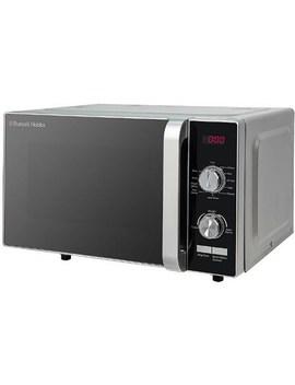 Russell Hobbs Rhfm2001 S 20 L 700 W Flatbed Digital Microwave   Silver by Russell Hobbs