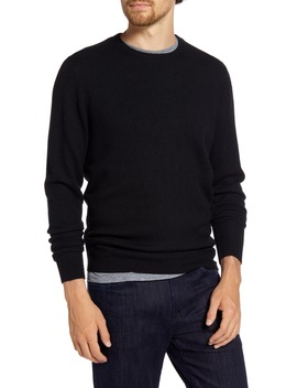 Regular Fit Wool & Cashmere Sweater by 1901