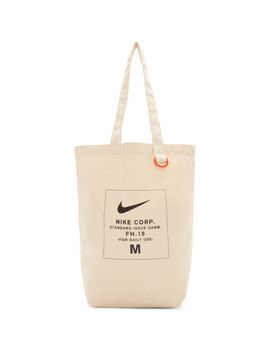 Off White Heritage Tote by Nike