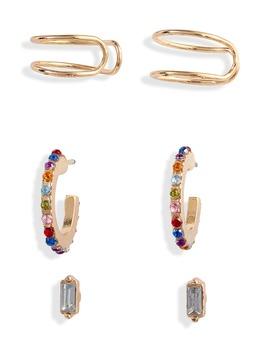 X Claudia Sulewski Set Of 3 Ear Cuffs & Earrings by Bp.