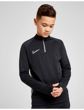 Nike Academy 1/4 Zip Track Top Junior by Jd Sports