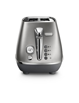 Cti2003 S Distinta Flair 2 Slice Toaster   Silver by Delonghi