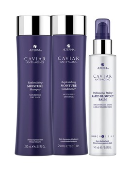 Full Size Caviar Anti Aging Replenishing Moisture Set by Alterna