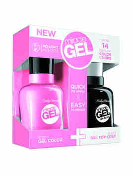 Sally Hansen Nail Polish Duo Pack Pink Cadillaquer Pink by Superdrug