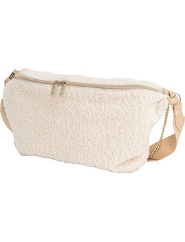The Fanny Pack Faux Shearling Belt Bag by BÉis