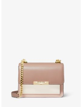 Jade Extra Small Tri Color Leather Crossbody Bag by Michael Michael Kors