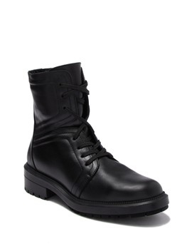 Luce Leather Lace Up Boot by Aquatalia