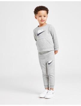 Nike Hybrid Crew Tracksuit Infant by Jd Sports