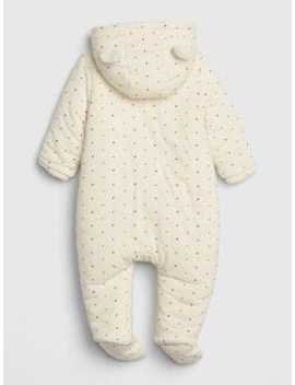 Baby Brannan Bear Sherpa  Footed One Piece by Gap