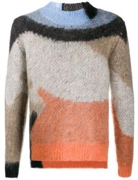 Pullover In Colour Block Optik by Ambush