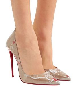 So Kate 120 Logo Print Pvc Pumps by Christian Louboutin