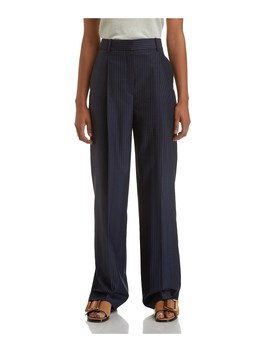 Pleat Trouser Stripe by Theory