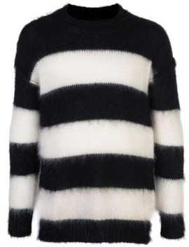 Gestreiftes Sweatshirt Mit Rundhalsausschnitt by Isabel Benenato