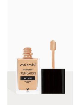 Wet N Wild Photo Focus Foundation Soft Beige by Prettylittlething