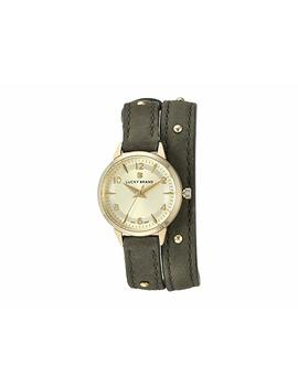 Torrey Olive W/ Gold Studs Watch   Lw00186 by Lucky Brand