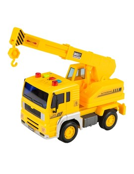 Light And Sounds Crane Truck   Small by Smyths
