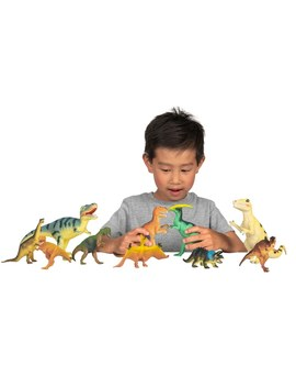 10 Piece Dinosaur Set by Smyths