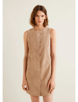 Robe En Cuir by Mango