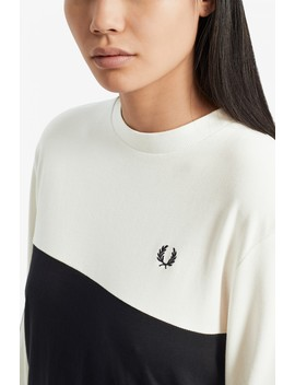 Taped Long Sleeve T Shirt by Fred Perry