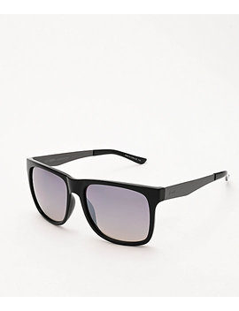 Dot Dash Admiral Black &Amp; Grey Chrome Sunglasses by Dot Dash