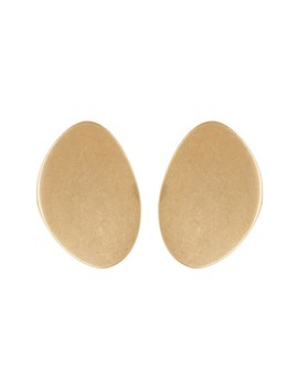 Curved Oval Stud Earrings by Madewell
