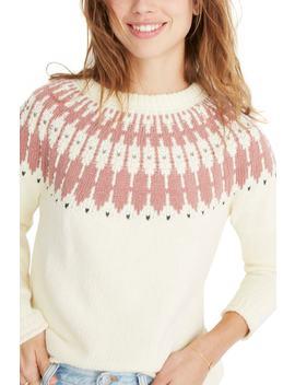 Keaton Fair Isle Sweater (Regular & Plus Size) by Madewell