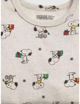 Baby Gap Snoopy Holiday Pj Set by Gap