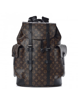 Louis Vuitton Monogram Macassar Christopher Pm Backpack by Louis Vuitton