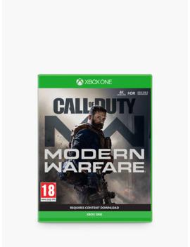 Call Of Duty: Modern Warfare (2019), Xbox One by Microsoft