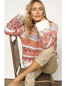 Kahlo Striped Sweater by Anthropologie