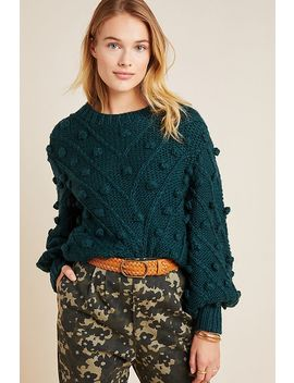 Evergreen Pommed Sweater by C/Meo Collective