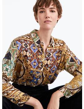 Εμπριμέ πουκάμισο by Uterqüe