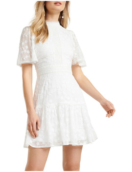 Crystal Embroidered Dress by Forever New