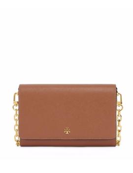New Tory Burch Emerson Robinson Chain Saffiano Leather Wallet Crossbody Bag by Tory Burch
