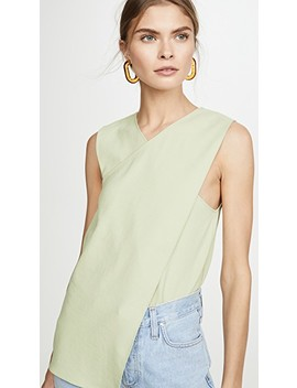 Front Wrap Top by Tibi
