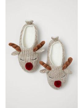 Papuci Tricotați by H&M