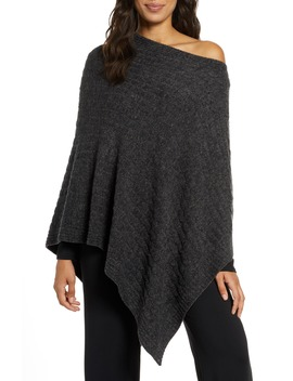 Cozy Chic™ Lite Poncho by Barefoot Dreams®