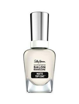 Sally Hansen Complete Salon Manicure Matte Top Coat by Sally Hansen
