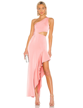 Cressida Gown In Sorbet Pink by Nbd