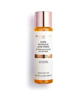 Revolution Skincare 2.5% Glycolic Acid Toner 200ml by Revolution