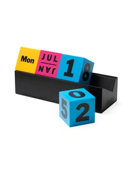 Cubes Perpetual Calendar by Moma Design Store