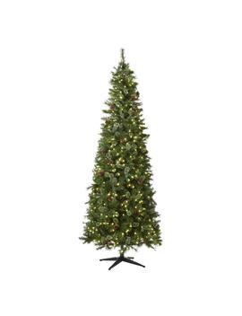 9 Ft. Pre Lit Led Alexander Pine Artificial Christmas Tree With 650 Warm White Lights by Home Accents Holiday