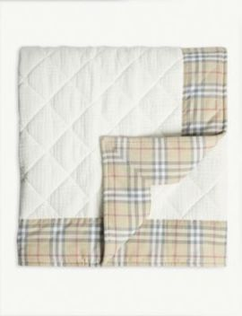 Vintage Check Quilted Blanket by Burberry