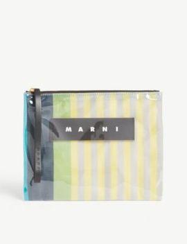 Pvc Pouch Bag by Marni