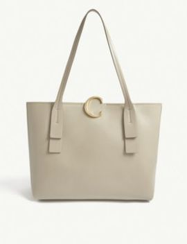 Chloé C Medium Leather Tote Bag by Chloe