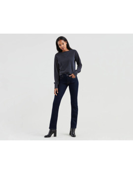 724™ High Waisted Straight Jeans by Levi's