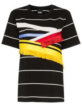 T Shirt Mit Fransen by Angel Chen
