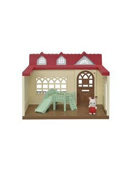 Calico Critters Sweet Raspberry Home, Ready To Play With Home And Figure by Calico Critters