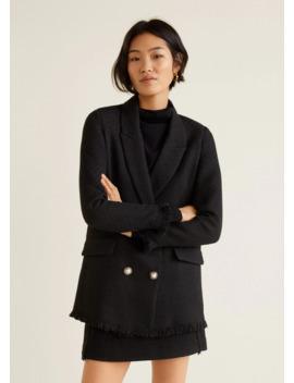 Veste Tweed Boutons by Mango